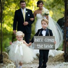Cute bridesmaid dresses for little girls ideas 42