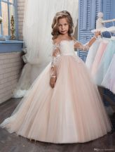 Cute bridesmaid dresses for little girls ideas 43