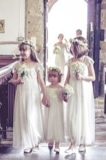 Cute bridesmaid dresses for little girls ideas 57
