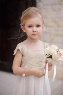 Cute bridesmaid dresses for little girls ideas 62