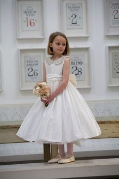 Cute bridesmaid dresses for little girls ideas 66