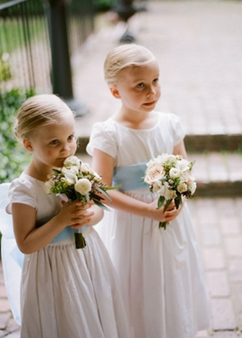 Cute bridesmaid dresses for little girls ideas 68