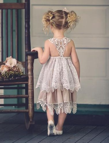 Cute bridesmaid dresses for little girls ideas 88