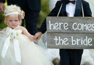 Cute bridesmaid dresses for little girls featured