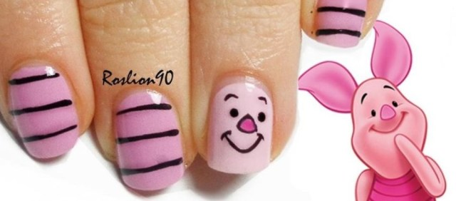 Cute nail art for kids girl featured