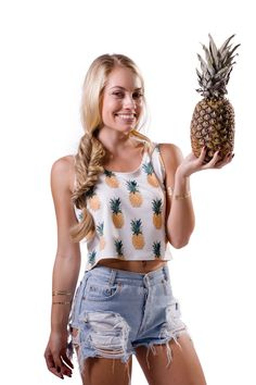 Cute pineapple tank top must you have 15
