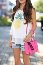 Cute pineapple tank top must you have 27