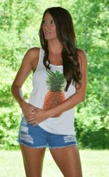Cute pineapple tank top must you have 34