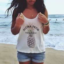 Cute pineapple tank top must you have 44