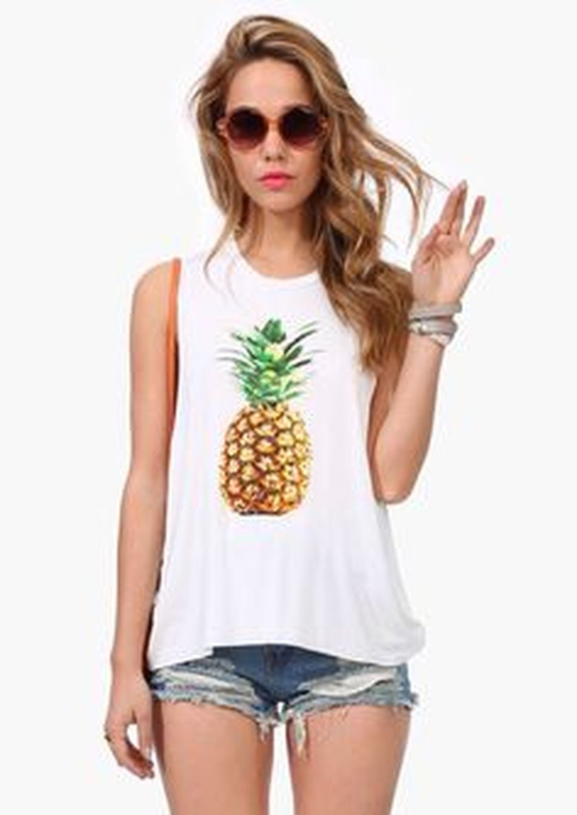 Cute pineapple tank top must you have 48