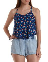 Cute pineapple tank top must you have 5