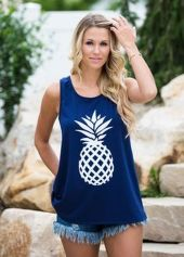 Cute pineapple tank top must you have 53