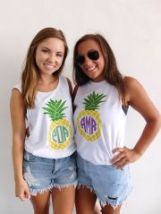 Cute pineapple tank top must you have 6
