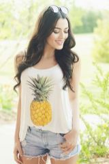 Cute pineapple tank top must you have 7