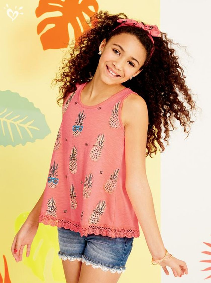 Cute pineapple tank top must you have 8