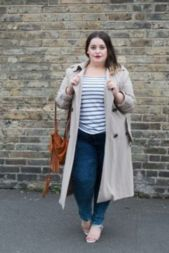 Fabulous plus size striped shirt outfits 41