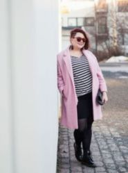 Fabulous plus size striped shirt outfits 59
