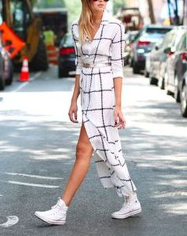 How to wear white sneaker for spring outfits 150