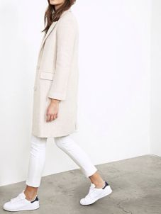 How to wear white sneaker for spring outfits 50