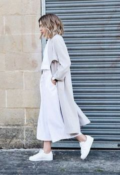 How to wear white sneaker for spring outfits 72