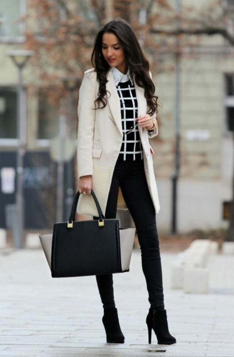 Marvelous creative formal outfits for work and job interview 49
