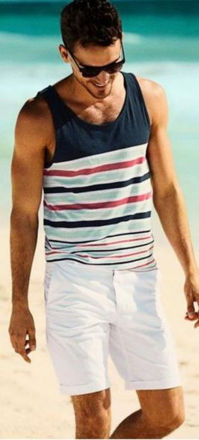 Mens fashions should wear while on the beach 38