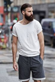Mens summer casual short outfits worth to copy 20