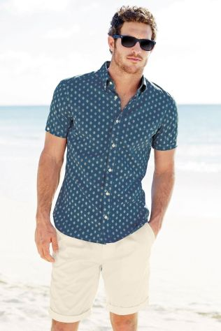Mens summer casual short outfits worth to copy 28