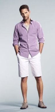 Mens summer casual short outfits worth to copy 33