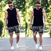 Mens summer casual short outfits worth to copy 41