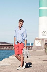 Mens summer casual short outfits worth to copy 46