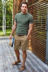 Mens summer casual short outfits worth to copy 48
