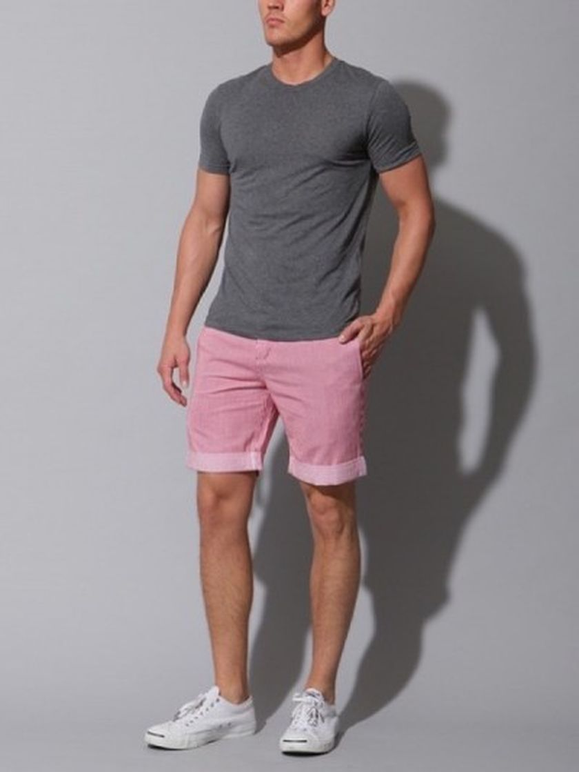 Mens summer casual short outfits worth to copy 49