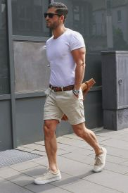 Mens summer casual short outfits worth to copy 5