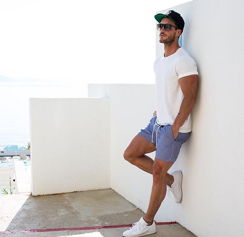 Mens summer casual short outfits worth to copy 8