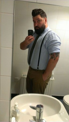 Plus size big and tall mens fashion outfit style ideas 13