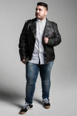 Plus size big and tall mens fashion outfit style ideas 15