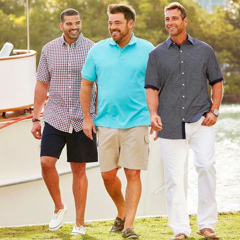 Plus size big and tall mens fashion outfit style ideas 23