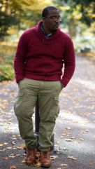 Plus size big and tall mens fashion outfit style ideas 25