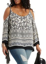 Plus size boho outfit style 31