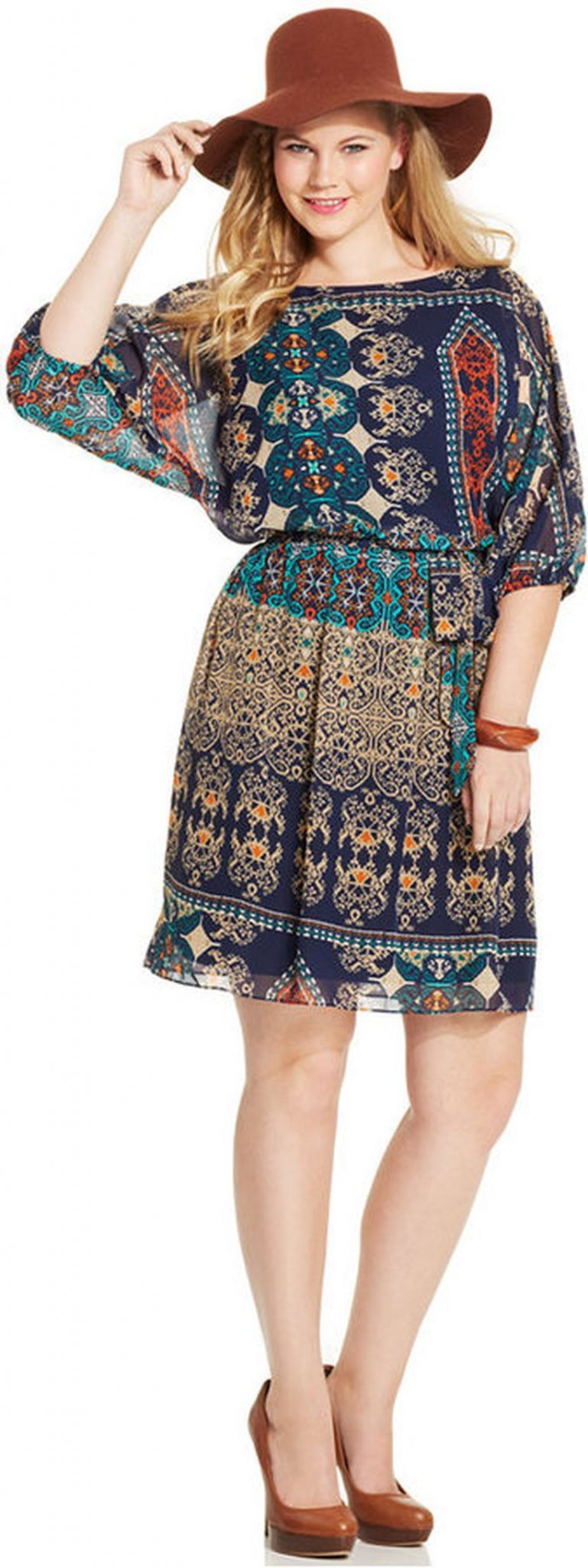 Plus size boho outfit style 41