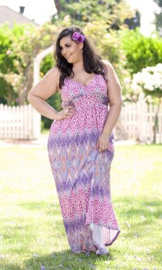 Plus size boho outfit style 48