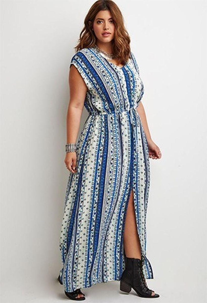 Plus size boho outfit style 52