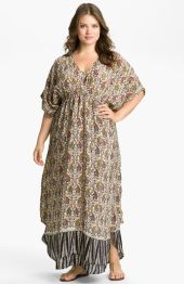 Plus size boho outfit style 54