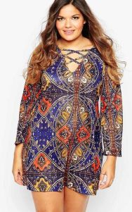 Plus size boho outfit style 8