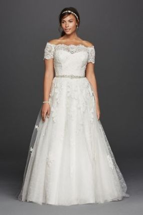 Plus size wedding dresses with sleeves 22