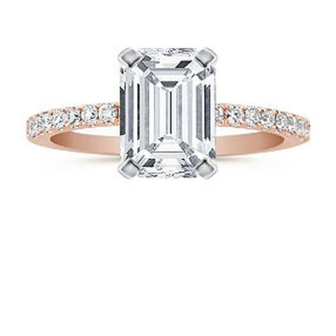 Rose gold solitaire ring for wedding 12