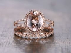 Rose gold solitaire ring for wedding 42