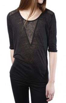 Sexy soft v neck tees women outfit style 27