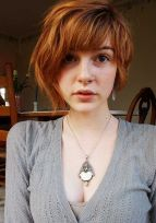 Short asymmetrical bobs hairstyle haircut 46